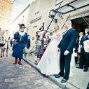 Justyna i Arek - przygotowania i ślub