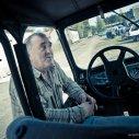 Pan Andrzej, nasz przewodnik, kierowca i nieskończona kopalnia wiedzy o tych terenach
